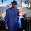 Shaquille O´Neal and Alicia Silverstone At The 1996 MTV Movie Awards