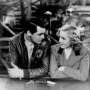 Jean Arthur and Cary Grant