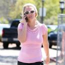 Britney Spears Seen Outside The Wildflour Bakery Cafe In Thousand Oaks