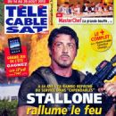 Sylvester Stallone - Télé Cable Satellite Magazine Cover [France] (14 August 2010)