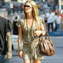 Nicky Hilton And David Katzenberg Out And About In NYC, 2007-09-08