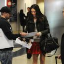 Emmy Rossum - LAX Airport, December 6, 2010
