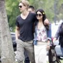 Vanessa Hudgens and Austin Butler kicked off their weekend with a visit to The Huntington Library Botanical Gardens in San Marino, CA today, May 4