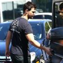 Taylor Lautner and his girlfriend  were seen leaving Fred Segal in West Hollywood, California on March 23, 2017 - 434 x 600