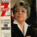 Simone Signoret - Télé 7 Jours Magazine Cover [France] (15 April 1978)