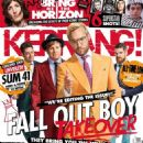 Andrew Hurley, Joseph Trohman, Patrick Stump, Pete Wentz - Kerrang Magazine Cover [United Kingdom] (3 October 2015)