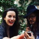 Steven Tyler joined daughter Liv Tyler in a video posted on instagram last month of them singing along together - 454 x 456