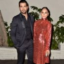 Actors Jesse Metcalfe (L) and Cara Santana attend the W Magazine celebration of the 'Best Performances' Portfolio and The Golden Globes with Cadillac and Dom Perignon at Chateau Marmont on January 8, 2015 in Los Angeles, California