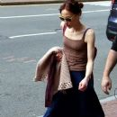 .Fiona Apple is spotted heading to her gig at the Citi Wang Theater on Saturday evening in Boston, MA - 383 x 594