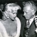 Jayne Mansfield and Nicholas Ray on a date
