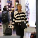 Sharon Stone at LAX Airport in Los Angeles - 454 x 682
