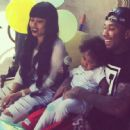 Blac Chyna and Tyga Celebrate King Cairo's 2nd Birthday in Calabasas - October 16, 2014 - 454 x 446