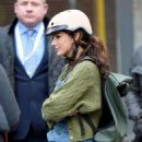 Michelle Keegan – Filming 'Brassic' TV show in Manchester