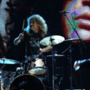 Steven Adler perform at the Rock N Roll Hall of Fame Induction on April 14, 2012 - 391 x 594