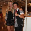 Dario and Luisana Lopilato: birthday party