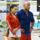 Dwayne Johnson- March 5, 2016- on the Set of 'Baywatch