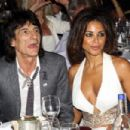 Ronnie Wood and Ana Araujo