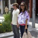 Vanessa Minnillo: leave a lunch date in Beverly Hills