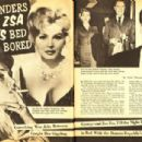 Zsa Zsa Gabor - The Lowdown Magazine Pictorial [United States] (January 1961) - 454 x 304
