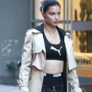 Adriana Lima – Photoshoot for Maybeline Commercial in NYC
