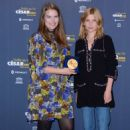 Clemence Poesy – 8th Nuits en Or Gala Dinner in Paris - 454 x 681