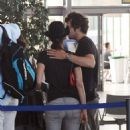 Marion Cotillard And Guillaume Canet At Figari Airport In France 07-26-2010 - 454 x 767