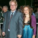Mimi O'Donnell and Philip Seymour Hoffman