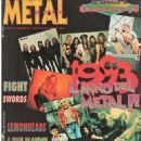 Dave Mustaine - Metal Shock Magazine Cover [Italy] (December 1993)