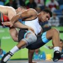Egyptian male sport wrestlers