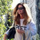 Maria Shriver spends time out and about in Brentwood, California on January 08, 2016 - 448 x 600