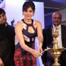 Samantha Ruth Prabhu at 60th Idea Filmfare Awards Press Meet - 454 x 303