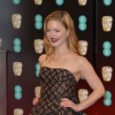 Holliday Grainger on Red Carpet at BAFTA Awards in London, UK 2/12/ 2017 - 454 x 659