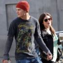 Lucy Hale and Chris Zylka