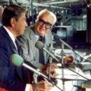 President Reagan & Harry Caray at Wrigley Field - 454 x 395