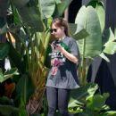 Dakota Johnson – Arrives to the gym in Los Angeles