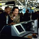 Dave Chappelle as Rusty P. Hayes and Norm MacDonald as Willard Fillmore in Universal's comedy Screwed - 2000 - 400 x 267