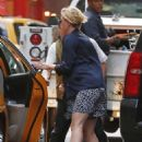 Scarlett Johansson Out In New York City