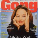 Jodie Foster - Gong Magazine Cover [Germany] (22 October 2003)