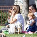 Jessica Alba and Cash Warren (February 17, 2014)