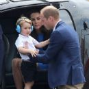 The Duke & Duchess of Cambridge Visit the Royal International Air Tattoo - 437 x 600