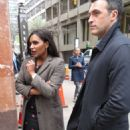 Mindy Kaling – Filming the 'Late Night' Show in NYC