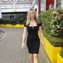 Caprice Bourret Arrives at Excel Business show in London - 454 x 660