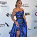 Janet Mock :  27th annual Elton John AIDS Foundation Academy Awards - 400 x 600