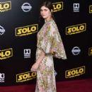Alexandra Daddario – 'Solo: A Star Wars Story' Premiere in Los Angeles - 454 x 701