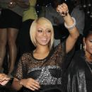 Keri Hilson - Album Release & Birthday Party, NYC - 21/12/2010