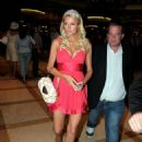 Paris Hilton Opens Japanese Restaurant Yellowtail, 2008-08-29