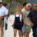 "Jennifer Aniston - Shooting A Scene For ""Marley And Me"" In Miami Beach, 18.04.2008."