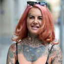 Jemma Lucy – Leaving House Of Evelyn Hair and Beauty Salon in Manchester - 454 x 682