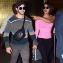 Priyanka Chopra and Nick Jonas – Arrives at Airport in Mumbai