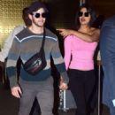 Priyanka Chopra and Nick Jonas – Arrives at Airport in Mumbai
